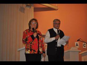 Doris Frank und Gernot Harnischfeger.